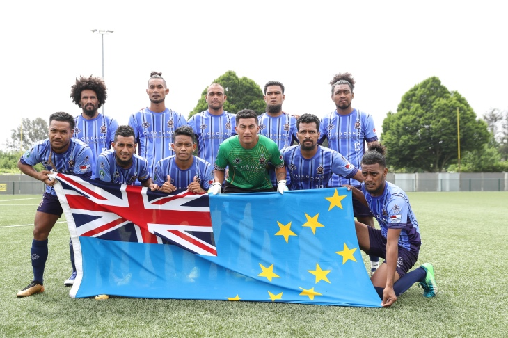 CONIFA World Football Cup 2018 - Tuvalu flag