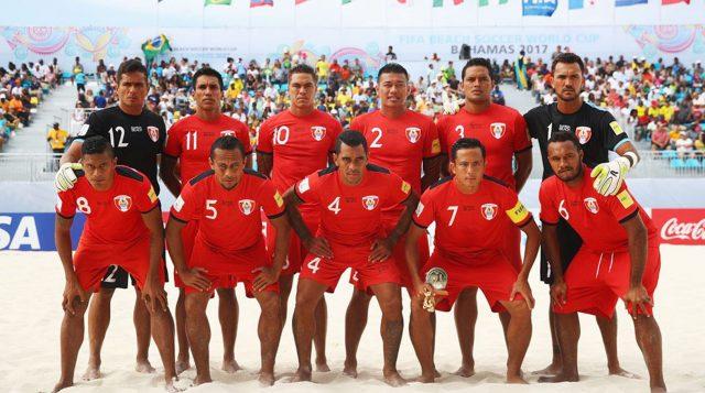 Tahiti beach soccer