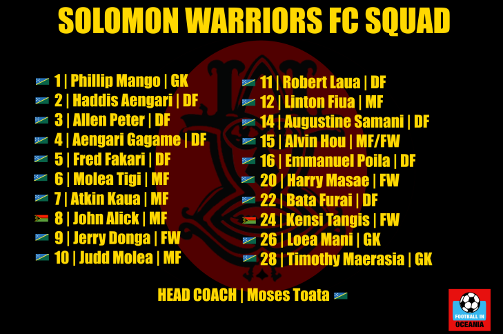 Solomon Warriors